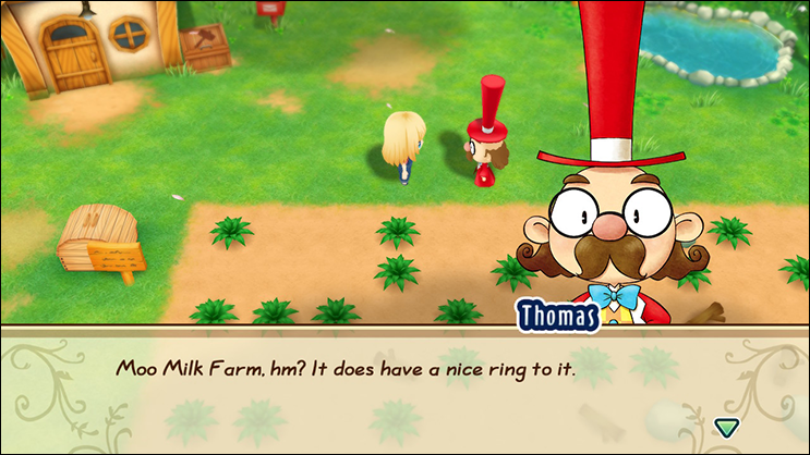 Friends of Mineral Town Mayor Thomas