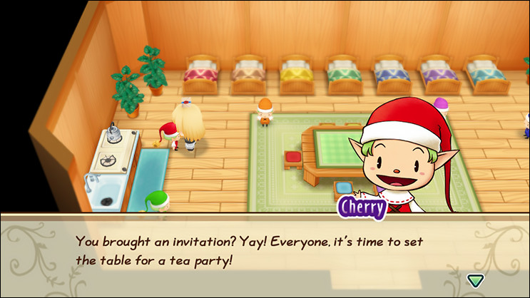 Nature Sprite Tea Party Invitation