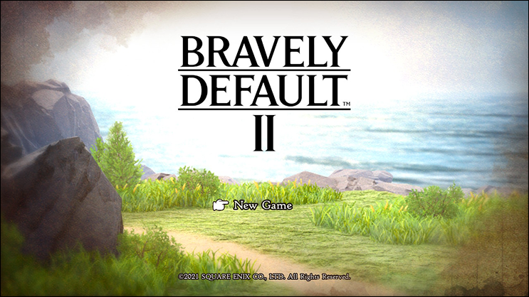 Bravely Default ii_hero_new-game
