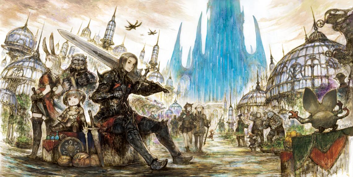 Final Fantasy XIV Hero