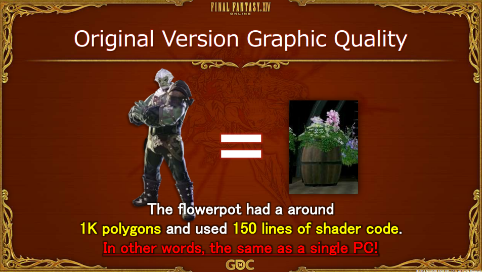 final fantasy xiv flowerpot polygon