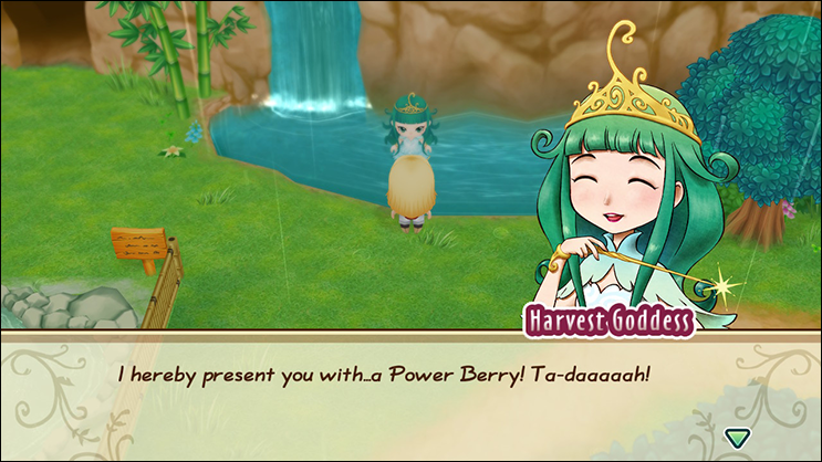 Harvest Goddess Power Berry Story of Seasons Friends of Mineral Town