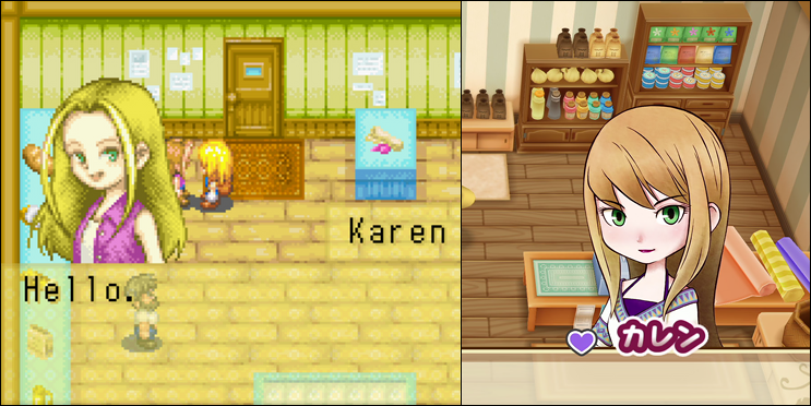 story of seasons friends of mineral town karen