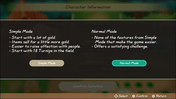 New Difficulty Modes