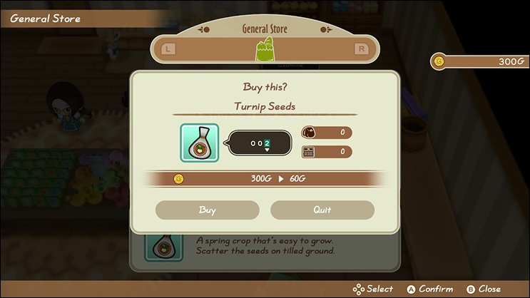 friends of mineral town turnip seeds
