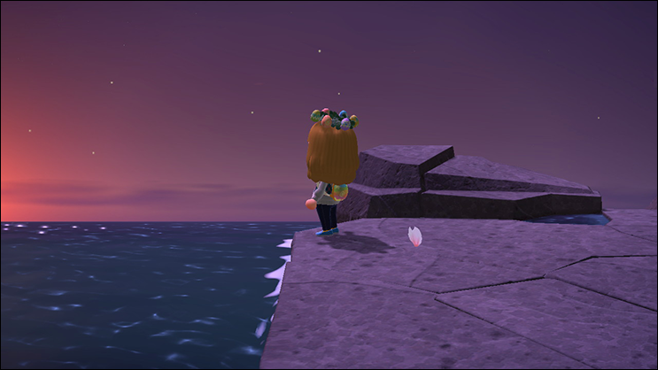 Animal Crossing New Horizons coast