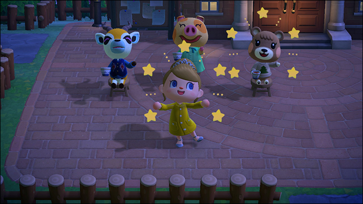 Animal Crossing New Horizons reactions
