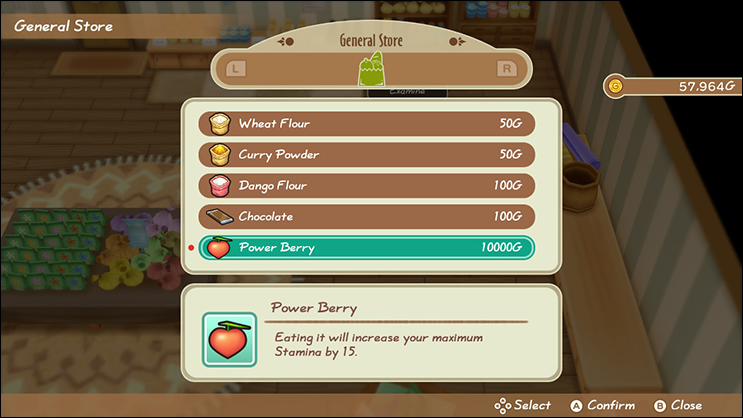 Power Berries Friends of Mineral Town