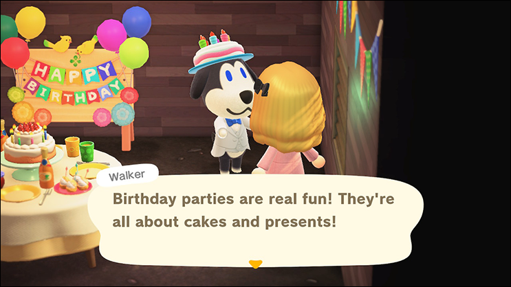 Animal Crossing New Horizons Birthday
