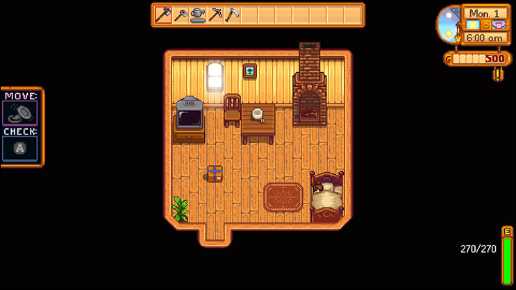 stardew valley first day