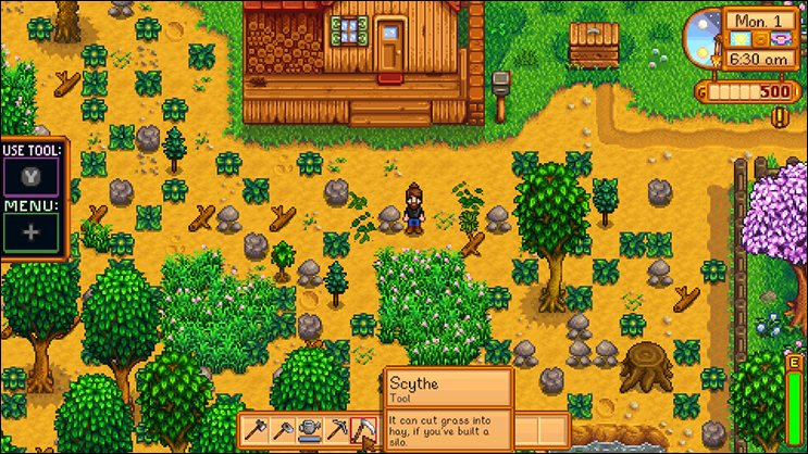 stardew valley clearing the map
