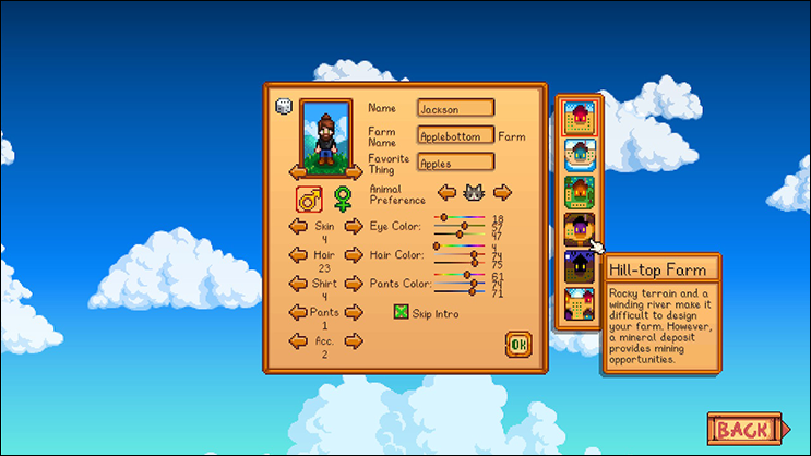 stardew valley controls