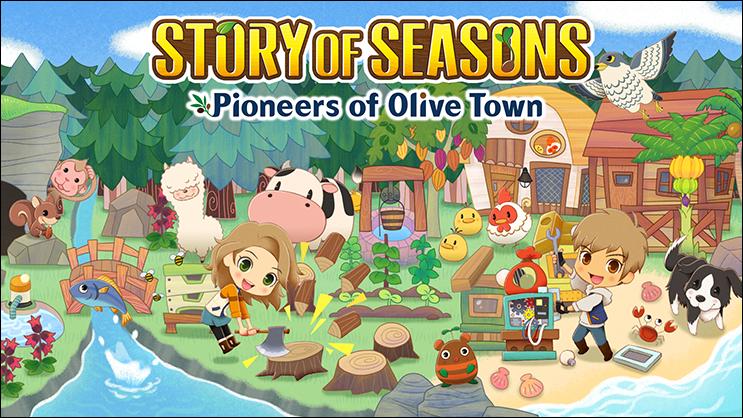 Story of Seasons Pioneers of Olive Town 2021 video games