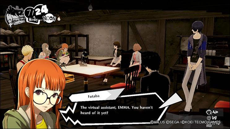 Persona 5 Strikers Emma