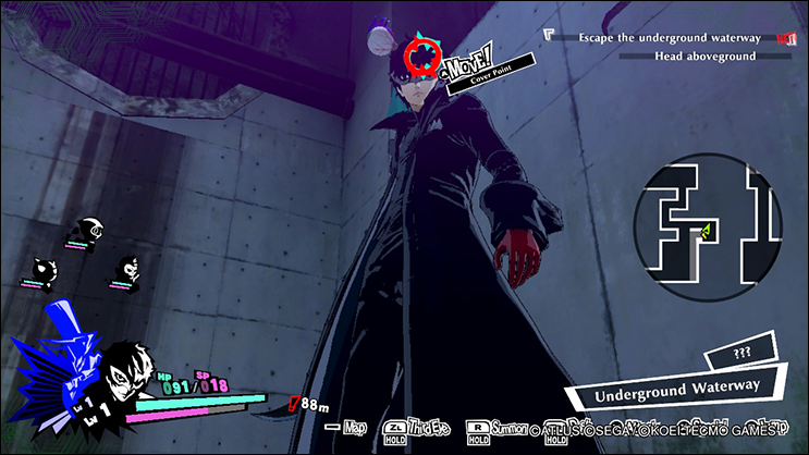 Persona 5 Strikers battle mechanics