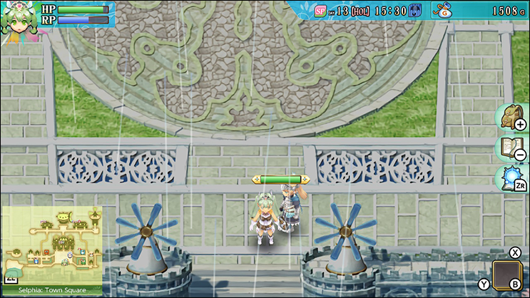 rune factory 4 south exit